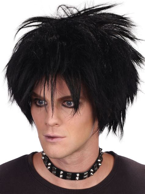 50s hair wigs for men 50s 80s wigs for men partynutters uk
