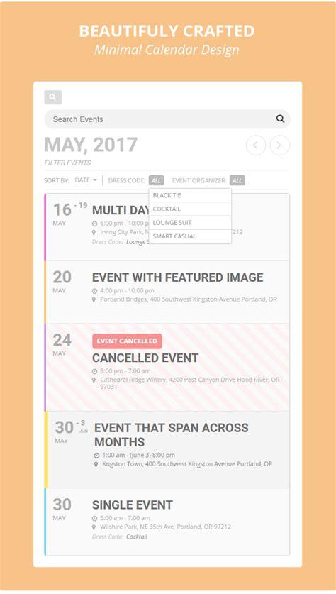 eventon wordpress event calendar plugin ashanjay
