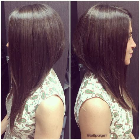 long inverted bob with a dramatic angle minimal stacking 17 best images about hair inverted bob on pinterest
