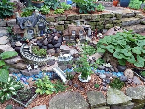 diy projects simple and small for rectangular house floor 30 diy ideas how to make fairy garden architecture design
