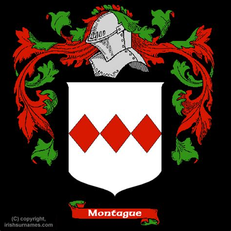 history and genealogy of the montague family of america descended from richard montague of hadley mass and montague of lancaster co va by name of montague classic reprint books montague coat of arms family crest and montague family