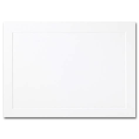 Embossed Panel Card Templates 02097 by Impressions Hi White Folded Panel Cards A2 4 1 4 X