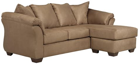 signature design by ashley darcy sofa chaise signature design by ashley darcy mocha 7500218