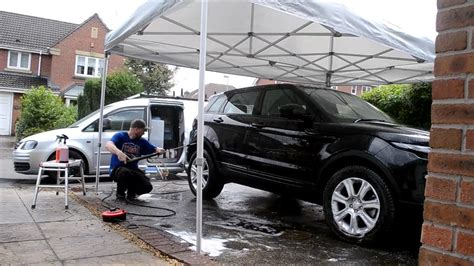 car gazebo professional gazebo for mobile detailing valeting