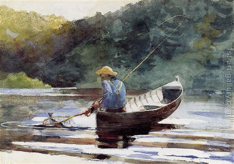 boat inspired dog names boy fishing winslow homer reproduction 1st art gallery