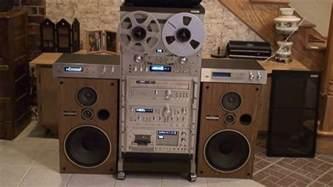pioneer vintage stereo system rack