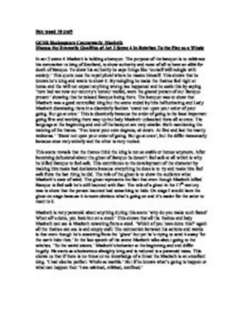 Pepperdine Mba Essay Question by Gcse Macbeth Coursework