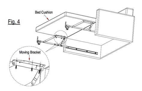 sofa bed fitting pro lift sofa bed fittings with guide track