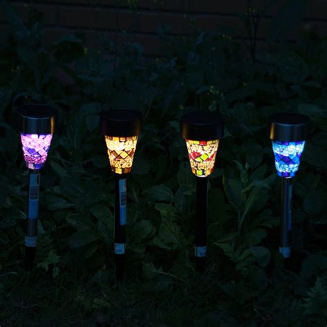 Solar Mosaic Garden Lights Solar Power Mosaic Led Garden Light Solar Energy Outdoor