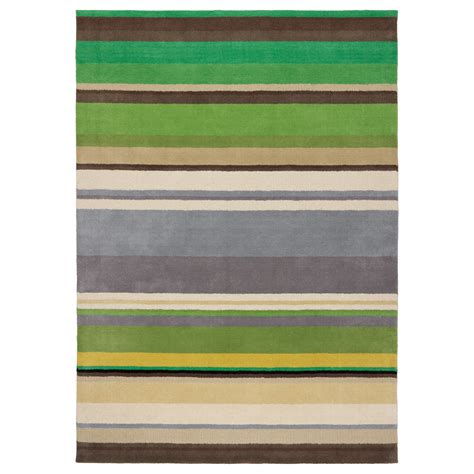 green rugs ikea stockholm rug low pile handmade green 170x240 cm ikea