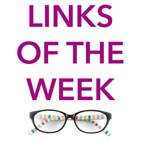 Link Of The Week political style links of the week
