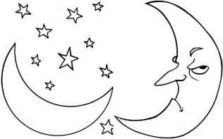 printable picture of the moon free printable moon coloring pages for best