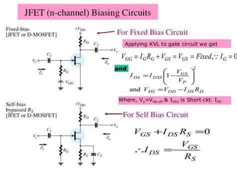 fet transistor equations fet basics 1