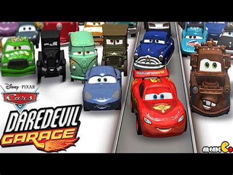 Disney Cars Garage by Cars Daredevil Garage Racing Stunt With Disney Pixar
