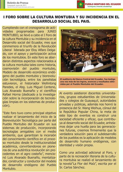 Notioro Montubio Junio 2011 | notioro montubio junio 2011