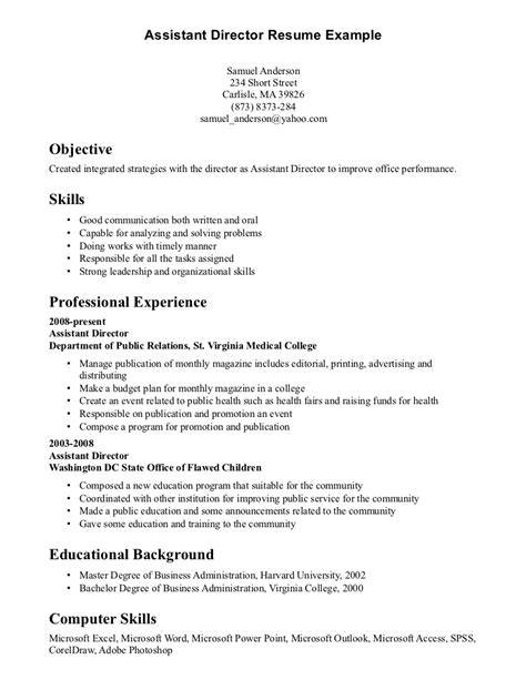 resume exles for skills communication skills resume exle http www