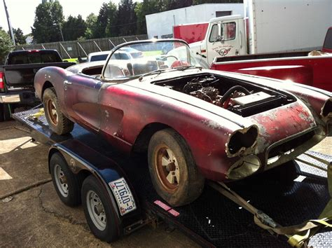 corvette 1960 price corvettes on ebay barn find 1960 corvette would make a