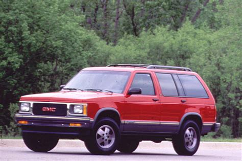 gmc jimmy 1990 94 gmc jimmy consumer guide auto