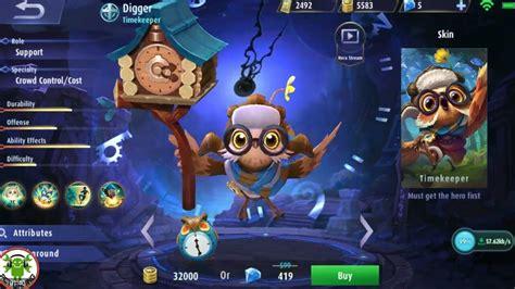 digger mobile legend new digger mobile legends