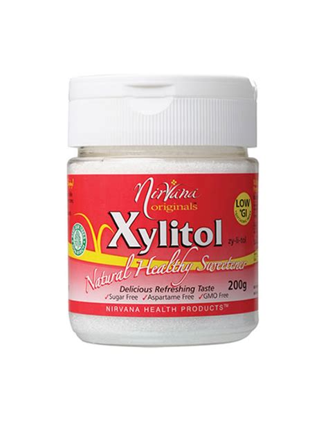 Detox Xylitol by Xylitol Refillable 200g Shaker Pack Nirvana Health Products