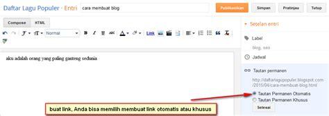 membuat link ke tab baru cara membuat blog menarik di blogger