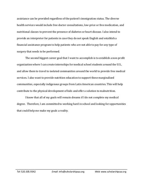 Scholarship Essay Exles Volunteer Sle Scholarship Essays