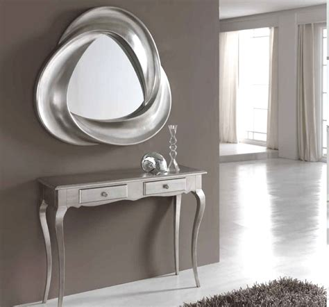 Hallway Table And Mirror Modern Hallway Console Table