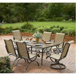 clearance patio furniture sets wow end of summer patio clearance 90 at kmart free