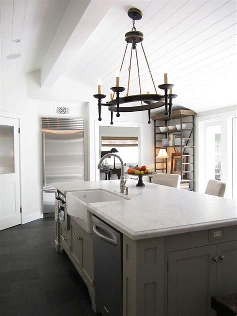 Bakers Kitchen by A Classic Casual House Kitchen Gets A Makeover