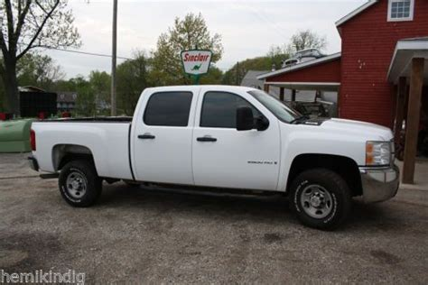 find used 2008 chevy silverado 2500 hd work truck clean