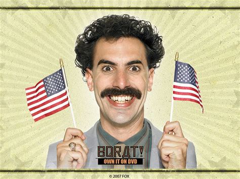 Borat A by Monday Smurfin The Web