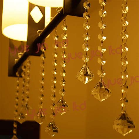 home decor hanging beads free shipping 6 strands acrylic crystal clear acrylic