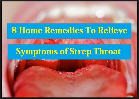 8 home remedies to relieve symptoms of strep throat ph