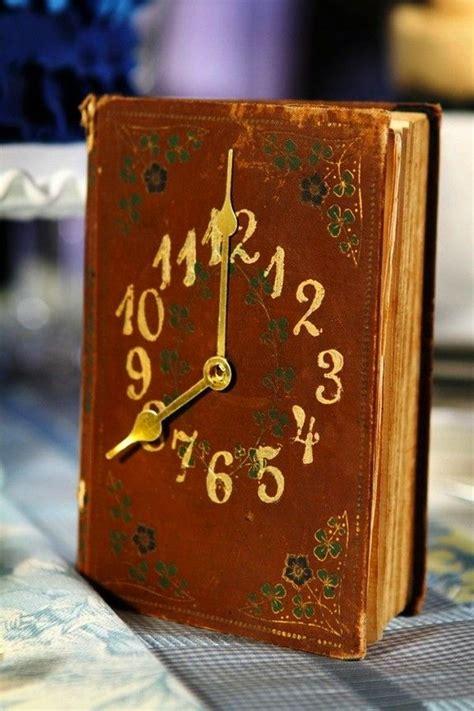 clocks a novel books diy wall clock ideas for decoration hative