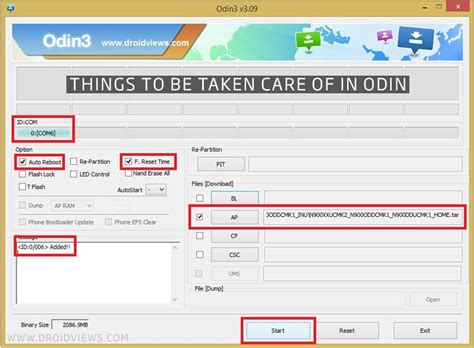 reset samsung using odin install stock firmware on samsung galaxy devices using