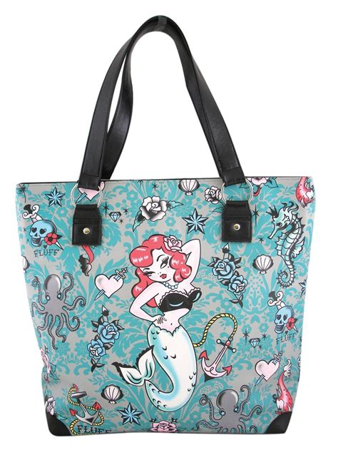 fluff molly mermaid tote bag 38 00 http fluffshop