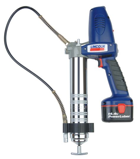 lincoln industrial powerluber cordless battery powered
