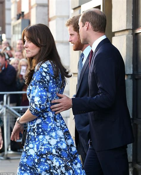 Kate Dress Inner kate middleton joins princes william and harry at bafta