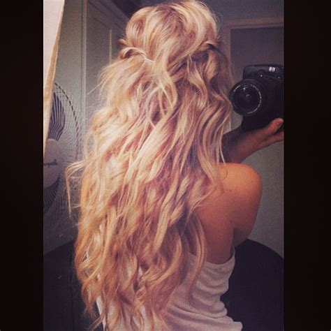 instagram pix of hair and waves instagram insta glam beach hair stylecaster