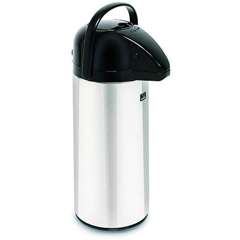 BUNN 28696 2.2 Liter Push Button Commercial Airpot Coffee/Tea Dispenser   Walmart.com
