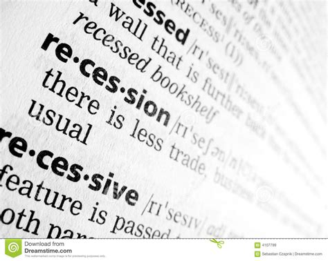 receding definition receding definition of receding by the free dictionary recession in dictionary royalty free