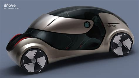 design apple car apple green car imove concept car news
