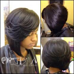 sew in bobs hairstyles bob sew in with a minimum leave out myideasbedroom com