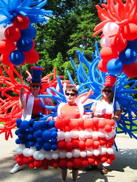 4th Of July Balloon Decorations by 1000 Images About 4th Of July Parade Balloons On