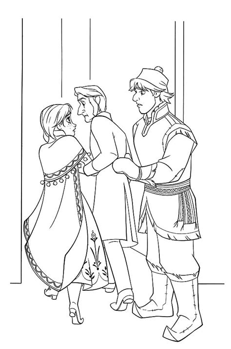 arendelle castle coloring page free arendelle coloring pages