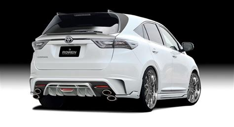 toyota lexus 2015 2015 toyota harrier tuned by rowen
