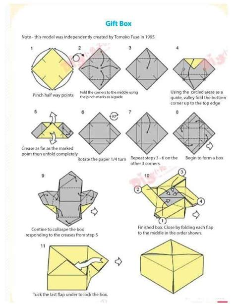 How To Make A Big Origami Box - 10 best images about tomoko fuse on watches