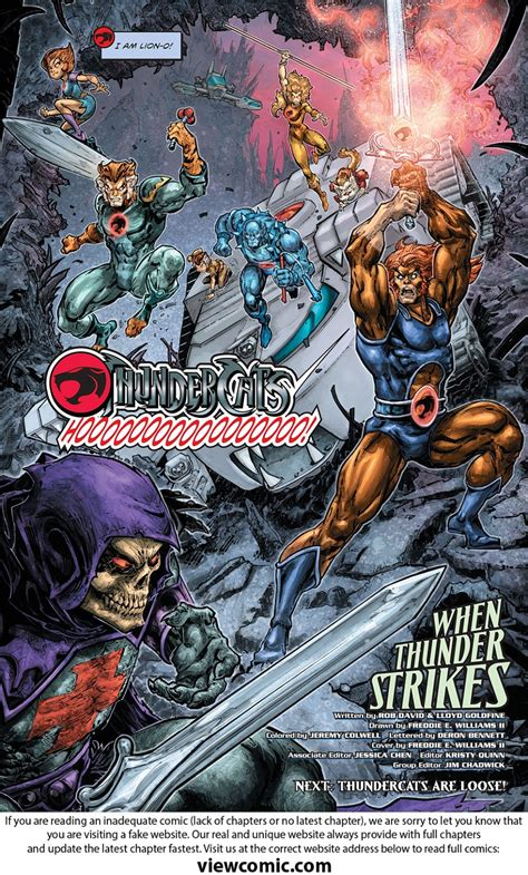 Dc Comics He Thunder Cats 4 March 2017 he thundercats viewcomic reading comics for free 2018