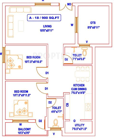 home design for 900 sq feet plot 900 sq ft 2 bhk 2t apartment for sale in aishwarya home