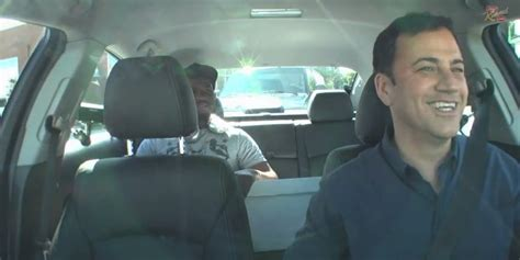Jimmy Kimmel S Day Jimmy Kimmel Spends The Day As An Uber Driver Huffpost